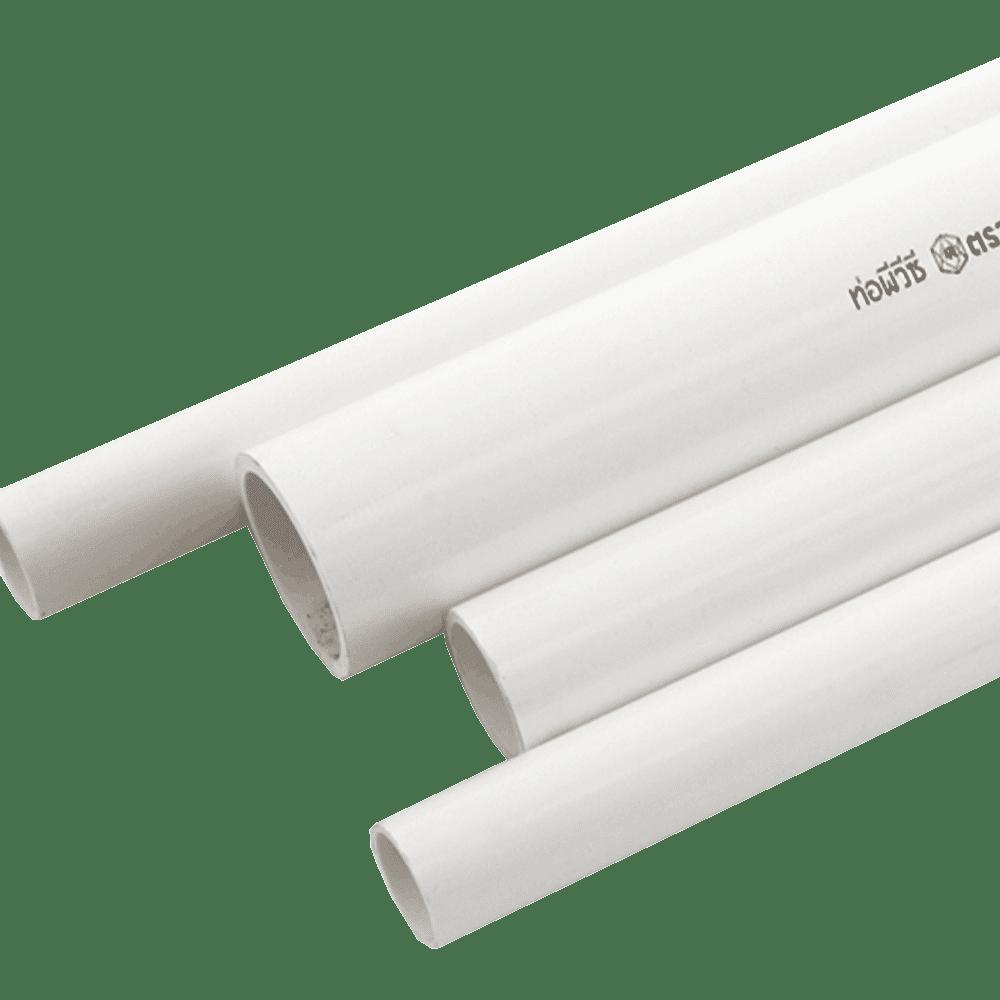 ท่อPVC-สีขาว